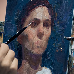 Painting the Portrait in Oil