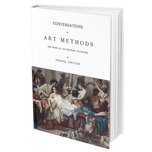 Thomas Couture, Conversations & art Methods. Free ebook @ Mneorca Pulsar, Art Retreat