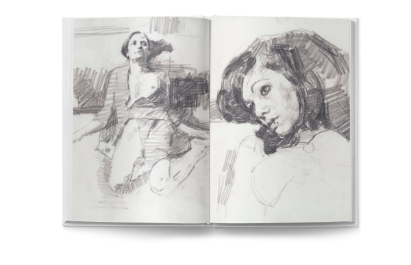 Hollis Dunlap Sketchbook. HD scans by Menorca Pulsa, Art Retreat